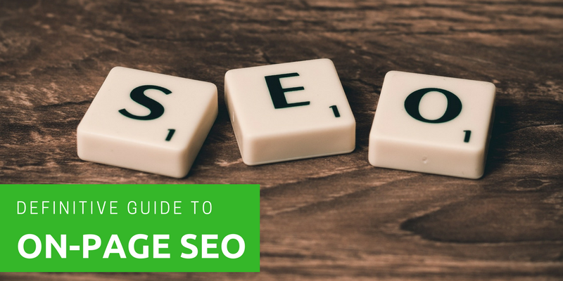 SEO: The Definitive Guide to On-page Optimisation
